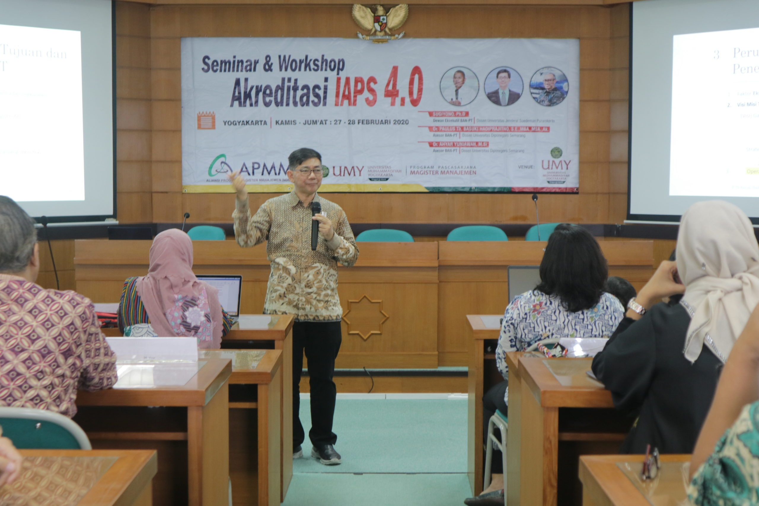 Seminar & Workshop Akreditasi IAPS 4.0